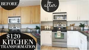 how to apply valspar cabinet paint diy kitchen transformation 120 decorate with me fall boho valspar cabinet enamel paint