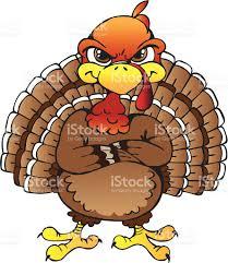 angry turkey clipart clipartxtras
