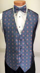 mardi gras vests mardi gras fleur de lis vest and bow tie retail s tuxedo