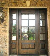 Exterior Entry Doors With Glass Exterior Front Entry Wood Doors With Glass Whitneytaylorbooks