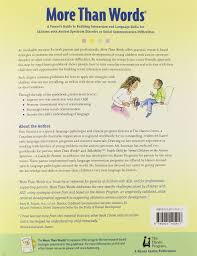 buy more than words a parents guide to building interaction and