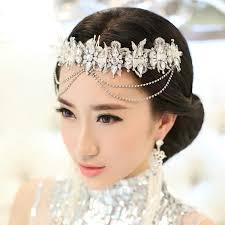 wedding headdress buy wholesale wedding headdress jewelry tassel lace flower