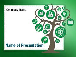 knowledge powerpoint template tree of knowledge powerpoint