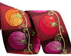 buy ribbon online buy ribbons tomatoes vine ribbon lfn textiles renaissance