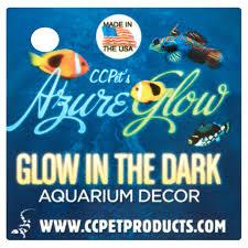Glow In The Dark Home Decor Cc Pet Azure Glow Glow In The Dark Aquarium Decor Walmart Com