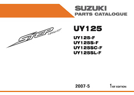 suzuki step 125 parts manual 1 documents