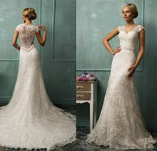 vintage ivory wedding dress 2015 vintage wedding dress ivory mermaid bridal gowns with
