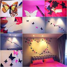 deco chambre papillon décoration murale papillon