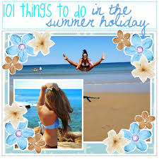 101 things to do in the summer polyvore
