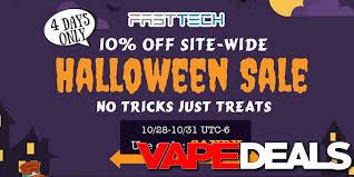Halloween Sale Fasttech Halloween 2017 Sale U2013 10 Off Everything Vape Deals