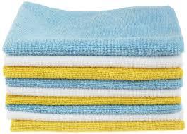 amazon com amazonbasics microfiber cleaning cloth 24 pack