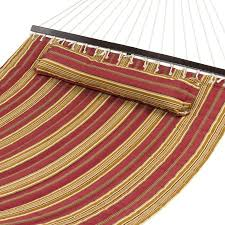 hammock quilted fabric w pillow size spreader bar heavy