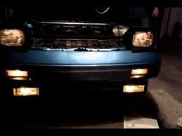 toyota mr2 fog lights fog lights youtube