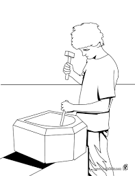 carpenter coloring pages hellokids com