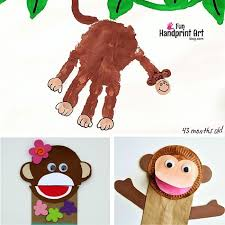 Paper Plate Monkey Craft - 20 cool monkey crafts and activities for