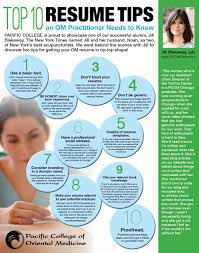 top 10 resume writing tips top 10 resume tips an om practitioner needs to by pcom alumna