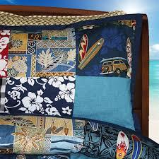 Quilted Duvet Cover King Hawaiian Patchwork Quilt Duvet Cover By Designer Dean Miller