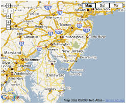 map of maryland delaware and new jersey landscape products