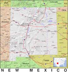 New Mexico Maps by Nm New Mexico Public Domain Maps By Pat The Free Open Source