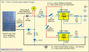 power g schematic diagram solar battery charger diy