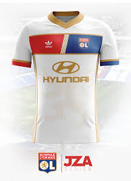 home design concept lyon olympique lyonnais home shirt 17 18 shirt concept on behance