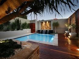 pool area pool design using timber decking decorative lighting dma homes