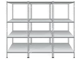 empty bookshelves isolated on white background stock vectorwhite