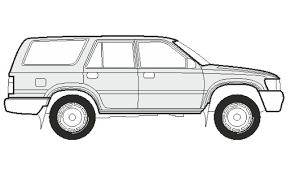 lego toyota 4runner how to draw a toyota 4runner как нарисовать toyota 4runner youtube