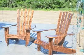 Used Adirondack Chairs Figured Walnut Adirondack Chairs U2014 Tony Zinn Furniture U0026design