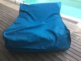 floating bean bag waterproof pool beach lounger indoor outdoor