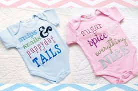 baby customized gifts be the bell of the baby shower with these embroidered gifts