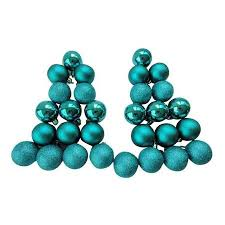 buy time 50mm peacock blue shatterproof ornaments 30