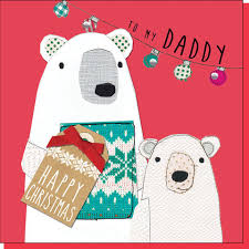 to the best daddy christmas card karenza paperie