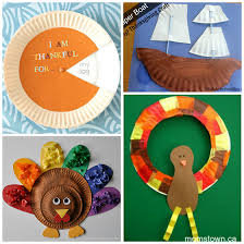 thanksgiving paper plate crafts for crafty morning