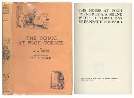 lot detail four first editions of the winnie the pooh series by