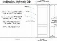 Interior Doors Sizes Standard Interior Door Sizes Rough Opening Image On Exotic Home