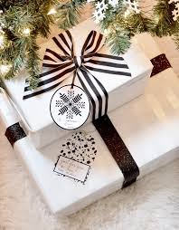 black and white gift wrap black white gift tag printables centsational style