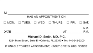 appointment card exol gbabogados co