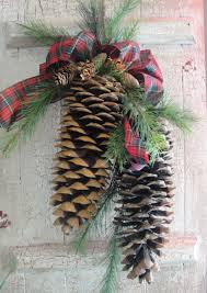 sugar pine cone swag from the flower shop wreaths pinterest