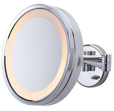jerdon style euro design tri fold lighted mirror 13 best makeup mirrors lighted wall mounted images on pinterest