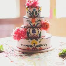 peony wedding cakes