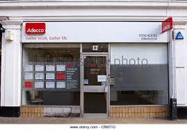 siege adecco recruitment agency stock photos recruitment agency stock images