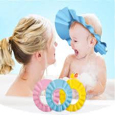 baby shower caps adjustable baby shower cap no more tears mamahome your