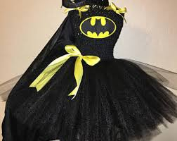 Batgirl Halloween Costume Accessories Batman Tutu Etsy