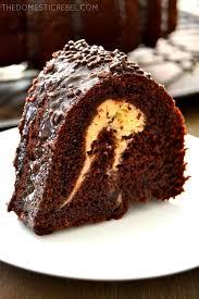 chocolate cheesecake bundt cake the domestic rebel