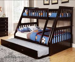 Espresso Twin Over Full Bunk Bed Bed Frames - Full over full bunk bed with trundle
