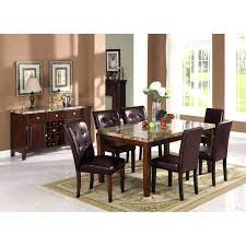 dining table marble dining room table south africa black top set