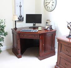 mahogany corner bookcase la roque mahogany corner desk imr06d
