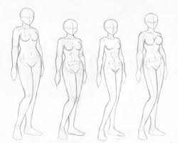 female body sketches by merrypaws on deviantart