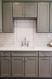 Kitchen Backsplash Ideas Cheap Nobby Design Kitchen Backsplash Grey Subway Tile Gray Subway Tile